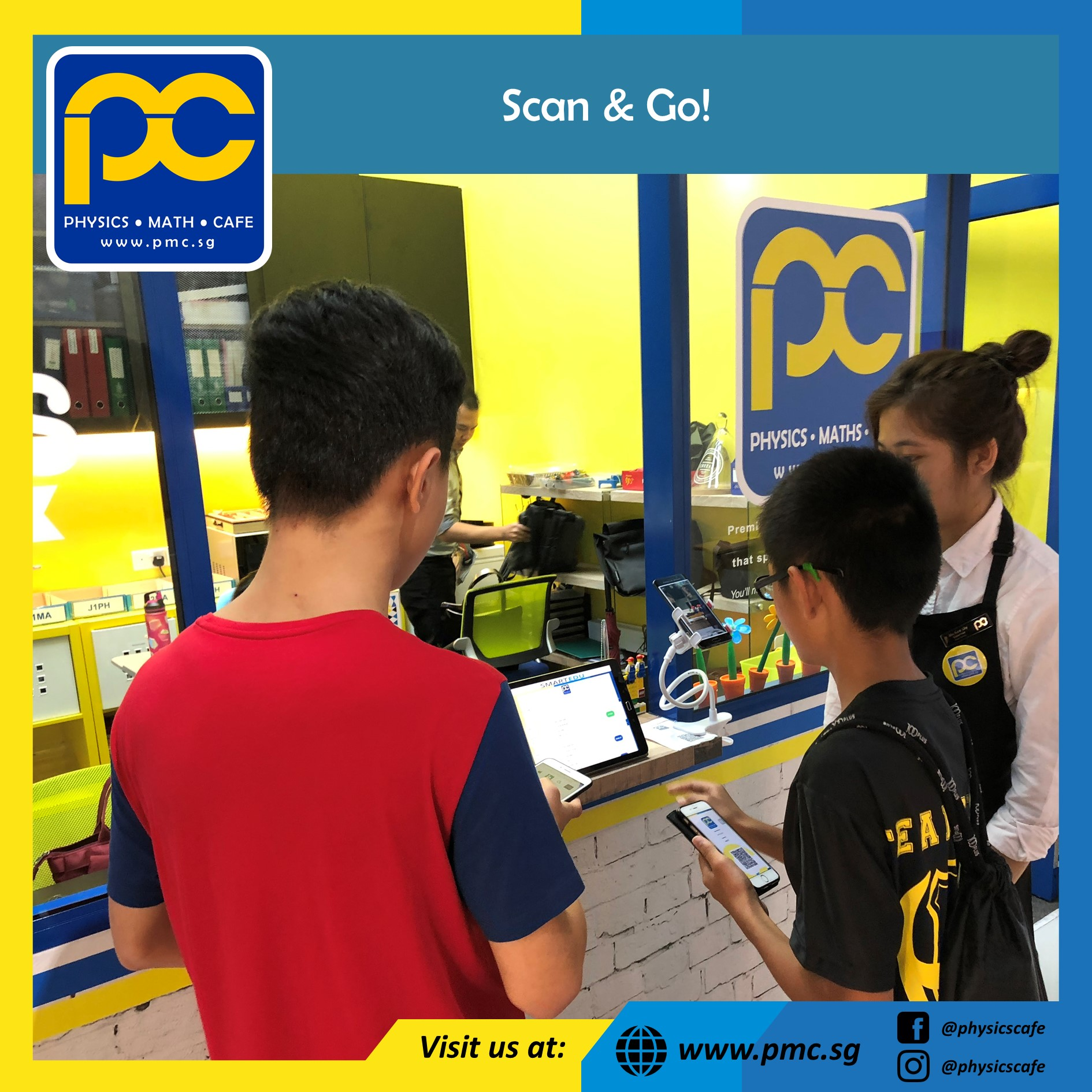 pmc scan & Go