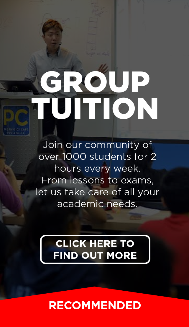 Physics Group Tuition in Singapore – PMC