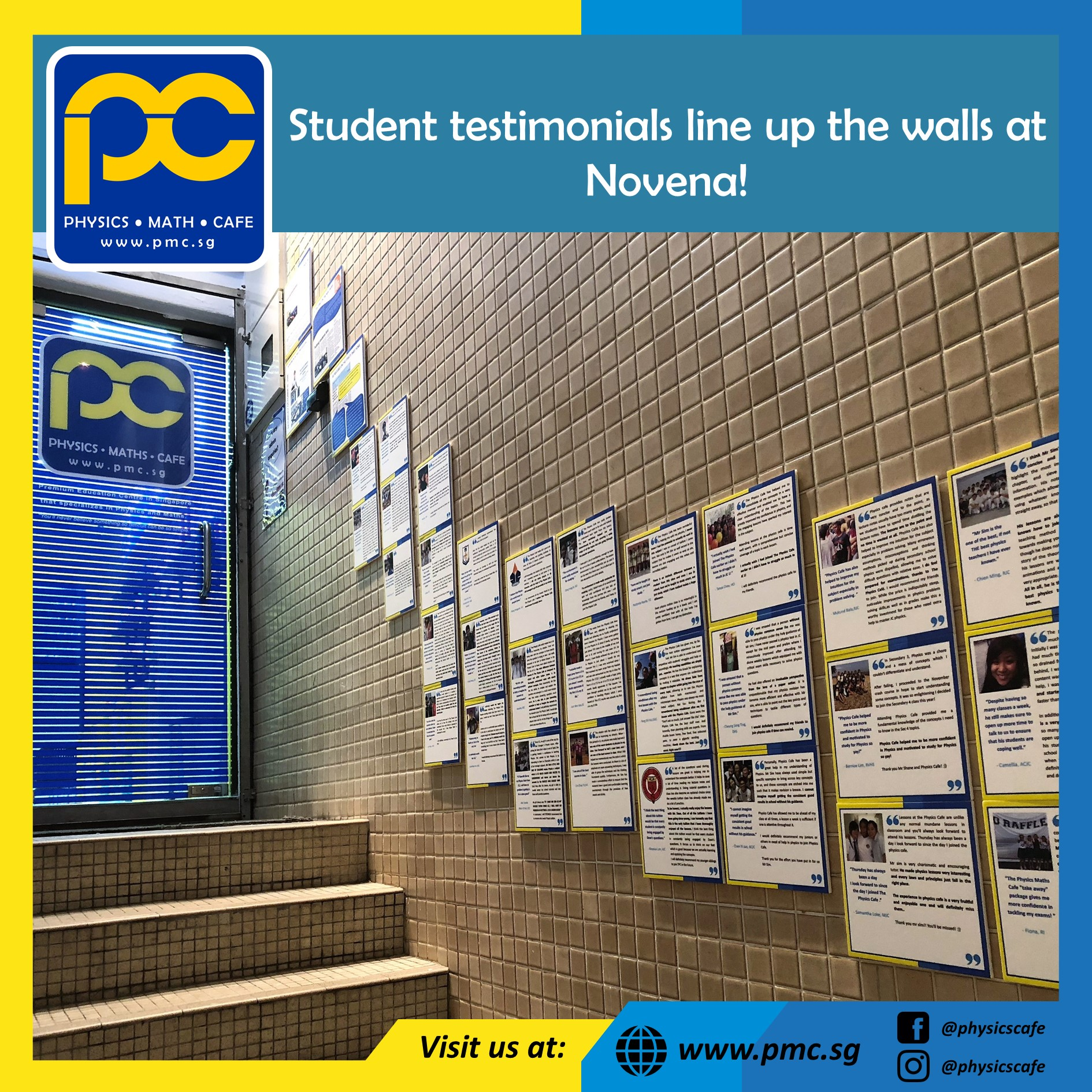 Students' testimonials